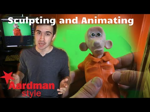 Sculpting and Animating an Aardman Inspired Character