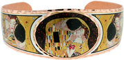 Gustav Klimt's The Kiss Bracelets