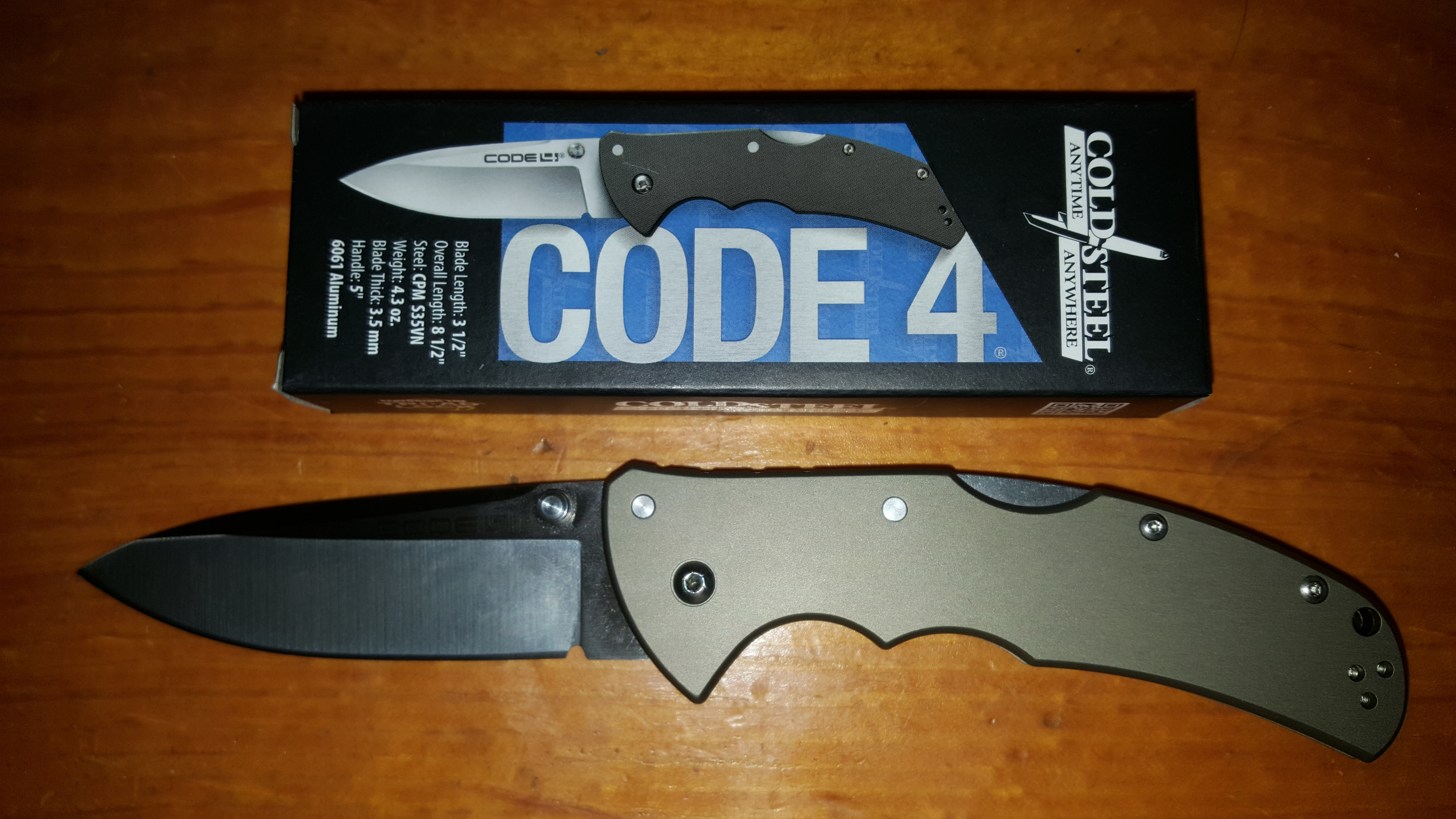 Cold Steel Code 4