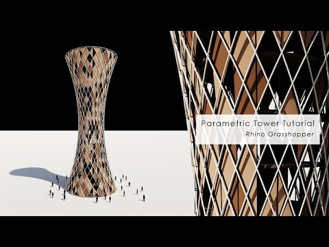 [Tutorial] Rhino_Grasshopper Parametric Tower