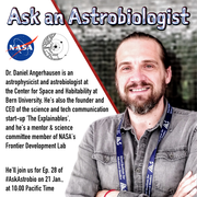 Ask an Astrobiologist with Dr. Daniel Angerhausen