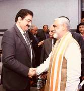 Sandeep Marwah Chief Scout For India Met Health Minister