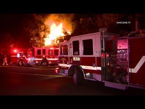 San Juan Capistrano House Fire