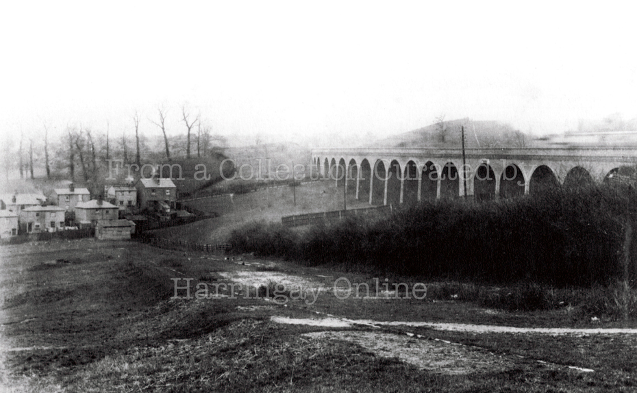 St. James's Lane Viaduct, Muswell Hill, 1888