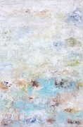 Imaginäre Landschaft, Mischtechnik, Leinwand auf Keilrahmen, 90 x 60 cm