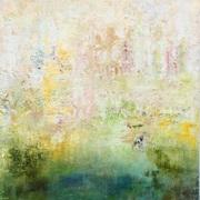 Memories I, Mischtechnik, 50 x 50 cm, Leinwand auf Keilrahmen im Schattenfugenrahmen