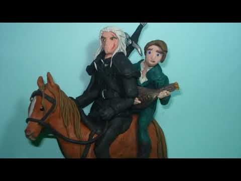 Toss a coin to your witcher, clay animation
