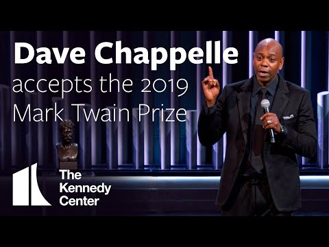 Dave Chappelle - Kennedy Center Mark Twain Prize [VIDEO]