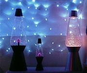 Glitter, plasma's and LED's