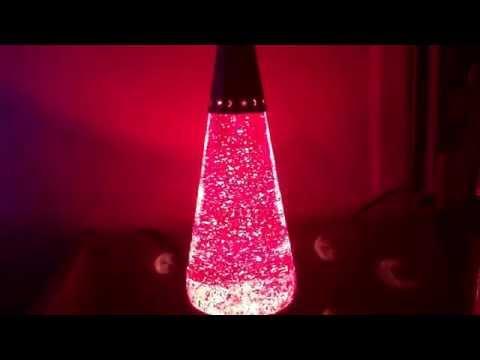 Red Glitter Wizard-My 1st Glitter Lamp