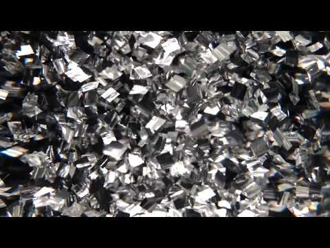 GOOLAMP GlitterKit 4K Video flowing in Mathmos Lunar Lava Lamp