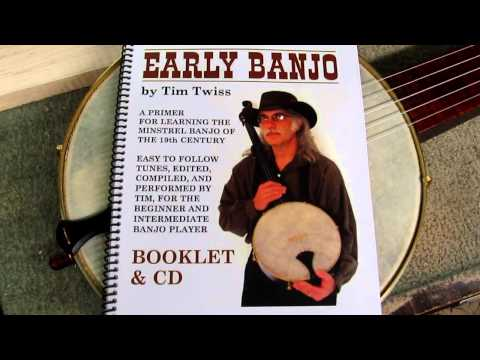 Bell Boucher Minstrel Banjo / Tim Twiss Instruction Book & CD