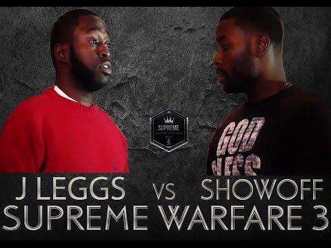 SUPREME RAP LEAGUE PRESENTS J LEGGS VS SHOWOFF