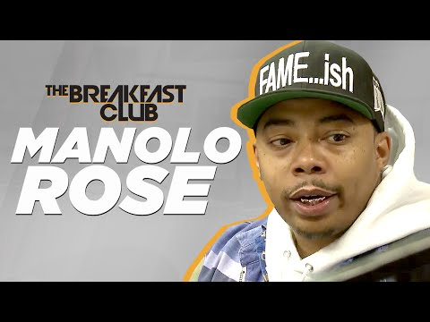 Manolo Rose Interview at The Breakfast Club Power 105.1