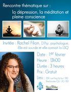 Rencontre thématique : La dépression, la méditation et pleine conscience - ASE