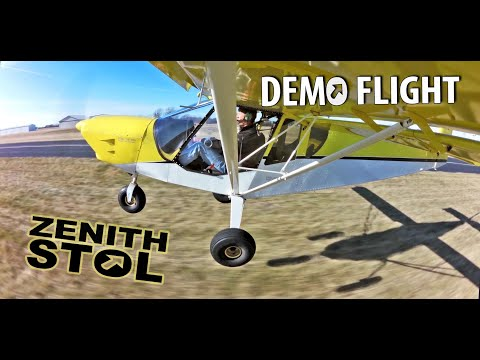 "STOL CH 750 ""Sky Jeep"" light sport kit aircraft flight demonstration"