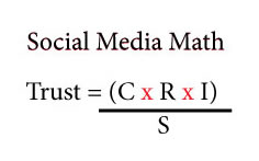 social media trust equation