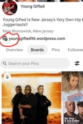 PINTEREST VERIFIED!! YOUNG GIFTED IS NOW  VERIFIED ON PINTEREST... https://www.pinterest.com/younggifted1996/