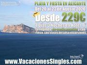 Playa y Fiesta en Alicante
