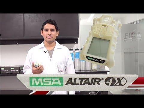 MONITOR DE GASES MSA Altair 4X