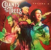 Giants In The Trees Volume 2 LP signed by Krist Novoselic, Jillian Raye, Ray Prestegard and Erik Friend