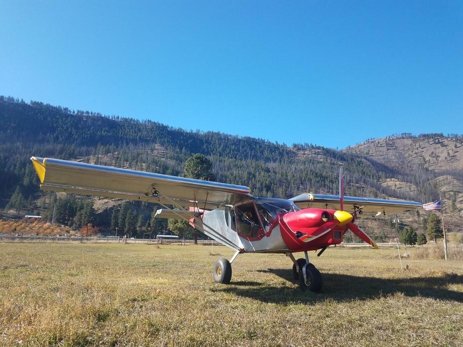 Fall at Pianosa Flying Farm