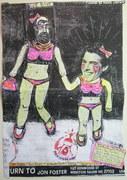 Mail art by Tara Verheide (Sinclair Scripa) (Ludlow, Vermont, USA)
