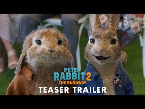 PETER RABBIT 2: THE RUNAWAY - Official Teaser Trailer (HD)