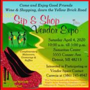 Alopecia Areata Awareness Sip and Shop Vendor Expo
