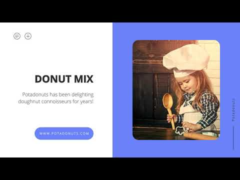 Potadonut's Mix for Donuts, Pancakes, Crepes, and More