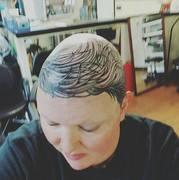 top of head
