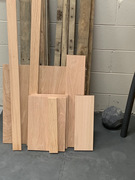 """The wood in front includes glued and screwed 6"""" panels with Kreg 1 1/4"""" pocket hole screws"""