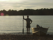 me on the Delaware with my then unknown diddly.