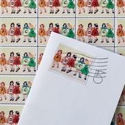 5th anniversary stamp