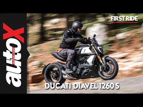Ducati Diavel 1260 S First Ride Video Review