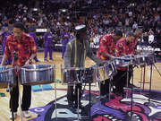 NBA.. features Steelpan performing  NATIONAL  ANTHEMS  of  America and Canada