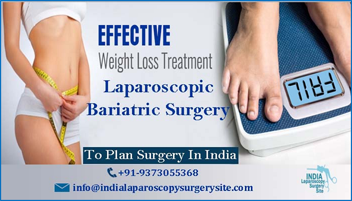 Laparoscopic Bariatric surgery in India for weight loss
