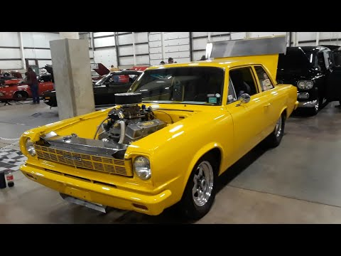 Rambler Amerircan Drag Car At the 2020 Dragfest