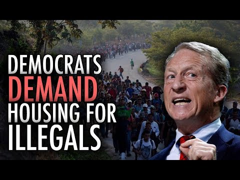 """Democrats DEMAND Housing for Illegals... How Can Anyone Who is """"Pro-Worker"""" Support Them?"""