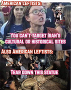 Who is destroying American culture and history?