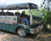 Enjoying Ride in Carbon Free Vehicle
