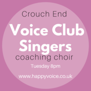 Voice Club Singers - Coaching Choir