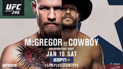 UFC 246 Conor McGregor vs Donald Cerrone.. #2019 Stream bY ReDdiT