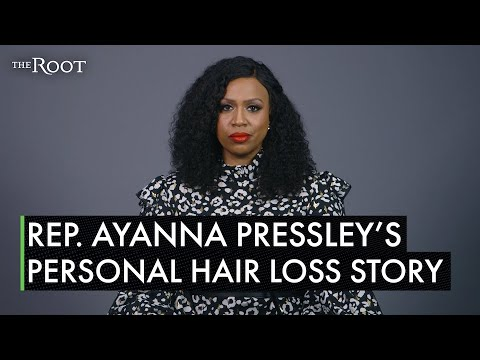 Exclusive: Rep. Ayanna Pressley Reveals Beautiful Bald Head and Talks Alopecia for the First Time