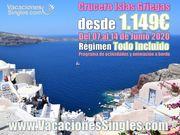Crucero Islas Griegas Junio 2020