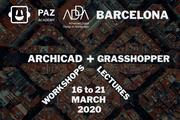 ArchiCAD + Grasshopper March 2020 Barcelona ;D