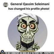 Soleimani has changed his Avatar