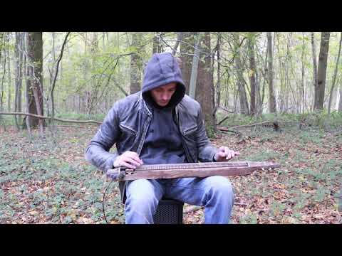 Gary O'slide - Lapsteel guitar custom Made in Borowice Lutherie