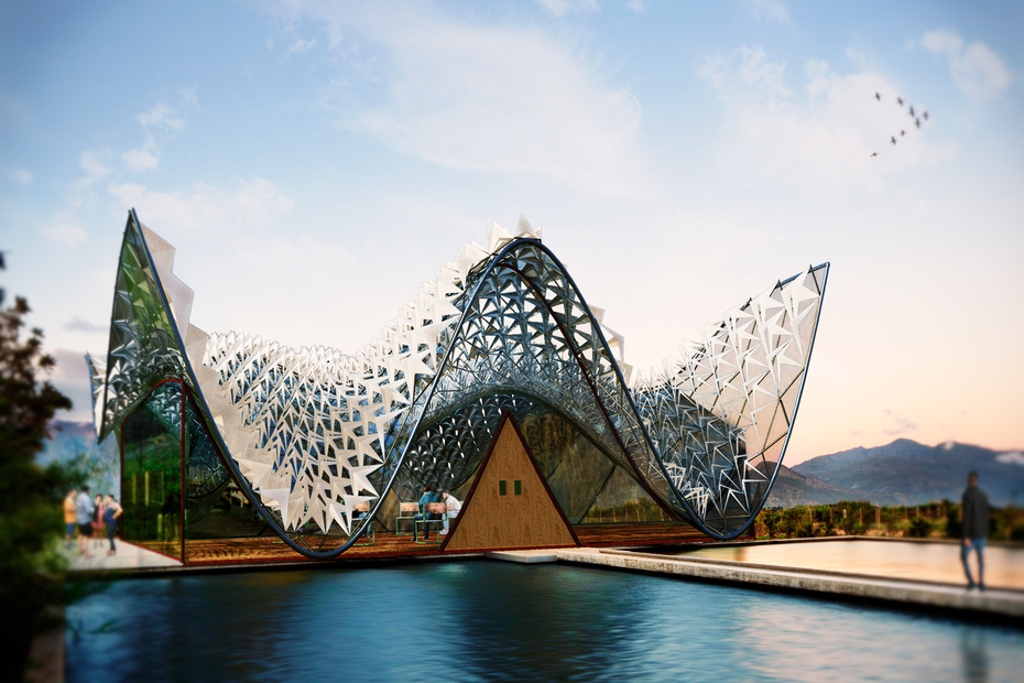 Architectural workout Rhino3d and Grasshopper+ Keyshot + post production + camtasia Aedas +@STEYN studio #albahrtowers + #bosjes