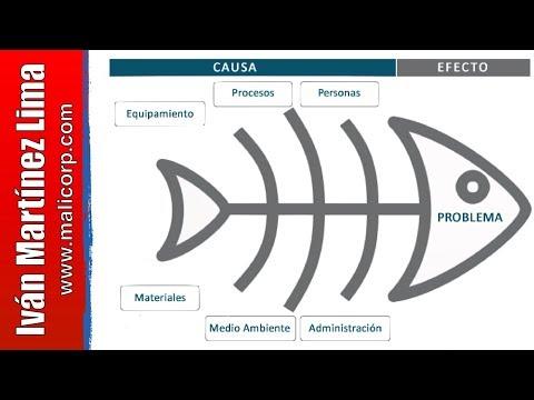 Diagrama de Ishikawa - Cómo hacer un diagrama de Ishikawa - Herramientas de Calidad